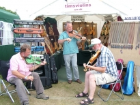 Playing at Warwick festival