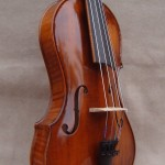 Asymmetric 5 string violin