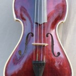 Burgundy Eclipse Violin