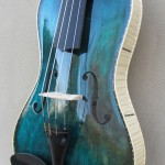 Dark Blue Octave Violin