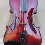 Dark Red Classic Violin
