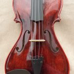 Red Top Corner Violin