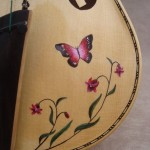 Decorated 5 string viola