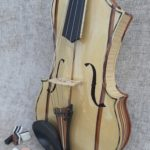 No. 499 The Plywood 5 Stringed Violin