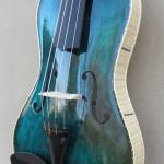 Dark Blue Octave Violin