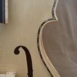5 Stringed Blonde Viola