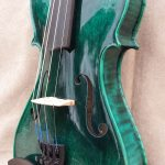 Blue Top Corner Violin